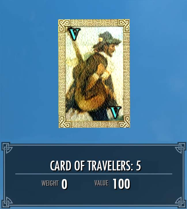 Card of Travelers: 5