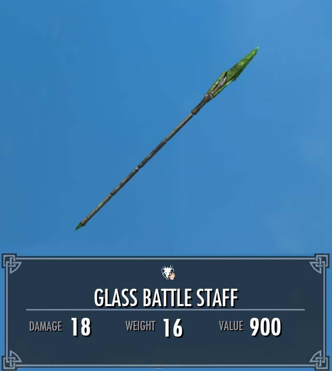 Glass Battle Staff