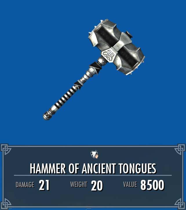Hammer of Ancient Tongues