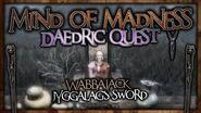 "(Daedric Displays -1) Wabbajack and Jyggalag's Sword - ""Mind of Madness"" Walkthrough! - Skyrim SE"