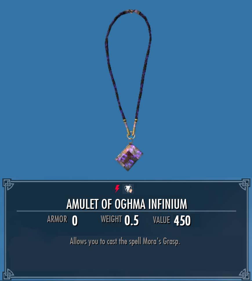 Amulet of Oghma Infinium