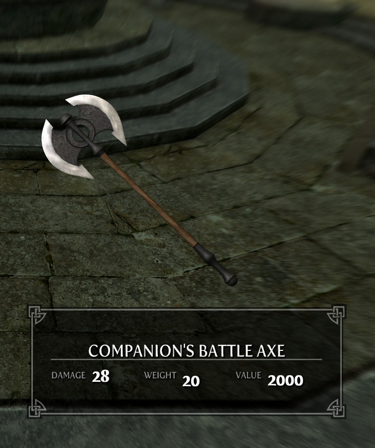 Companion's Battle Axe