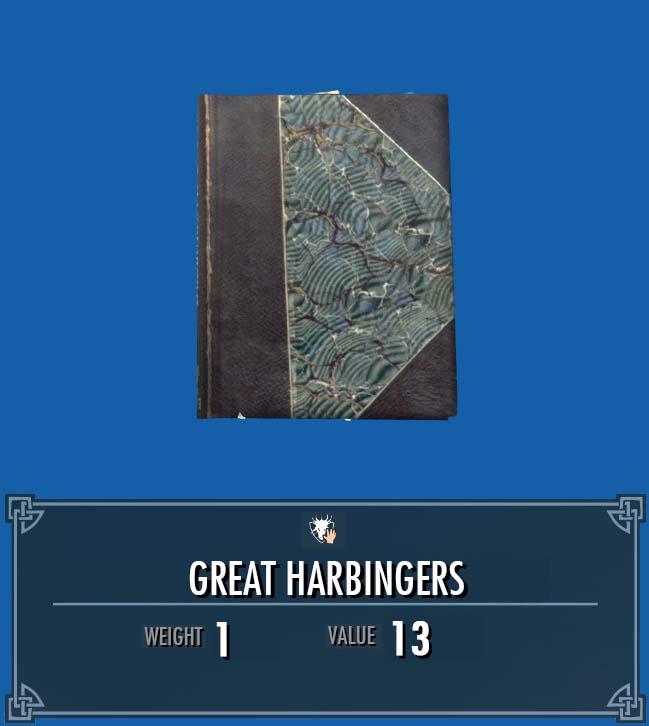 Great Harbingers
