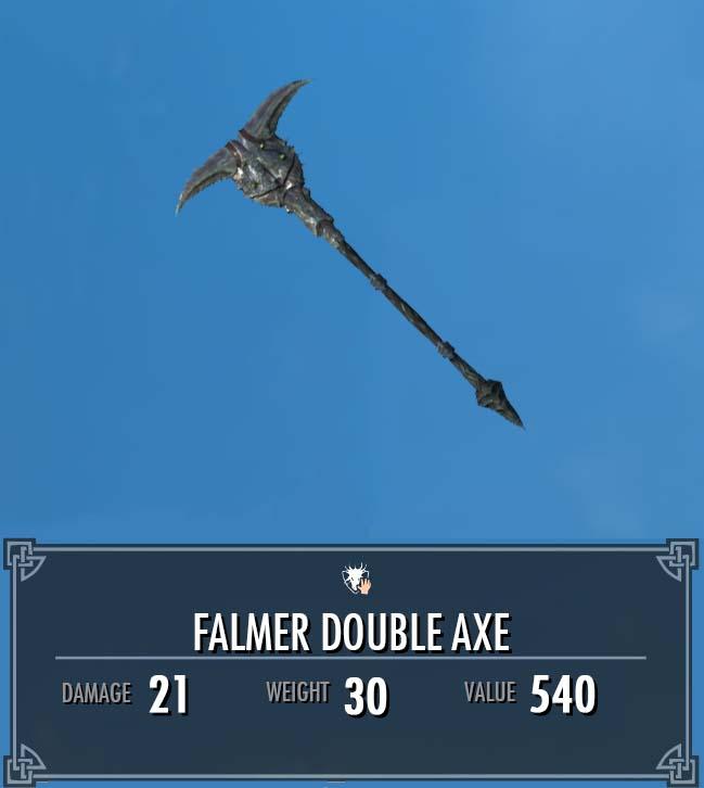 Falmer Double Axe