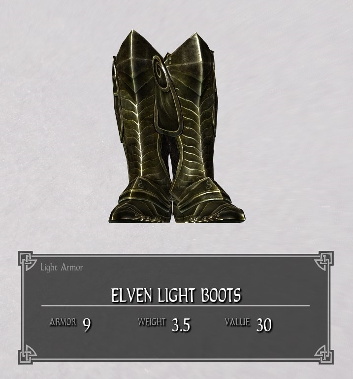 Elven Light Boots