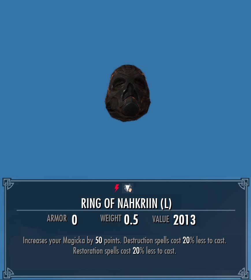 Ring of Nahkriin