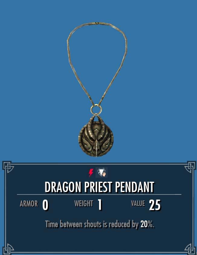 Dragon Priest Pendant