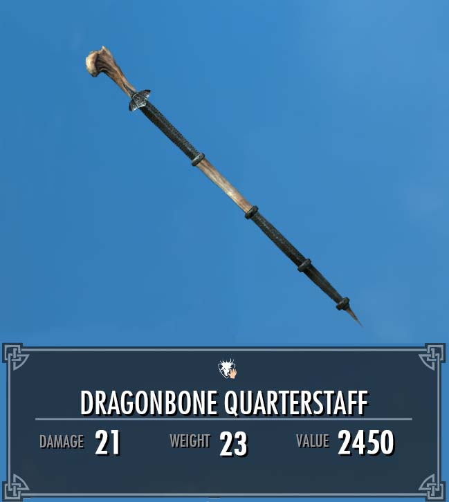 Dragonbone Quarter Staff