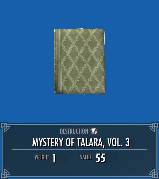 Mystery of Talara, Vol. 3