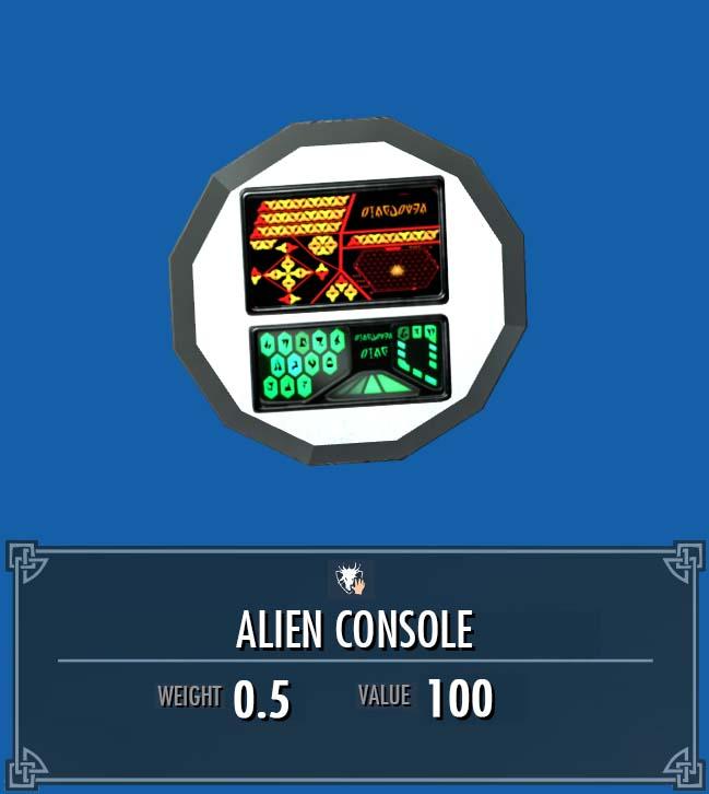 Alien Console