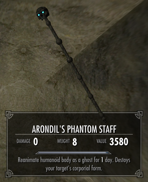 Arondil's Phantom Staff