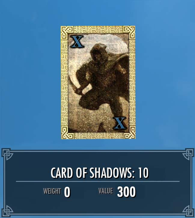 Card of Shadows: 10