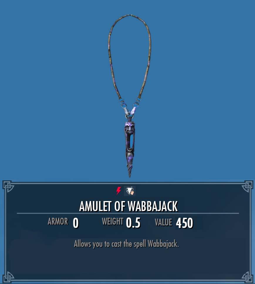 Amulet of Wabbajack