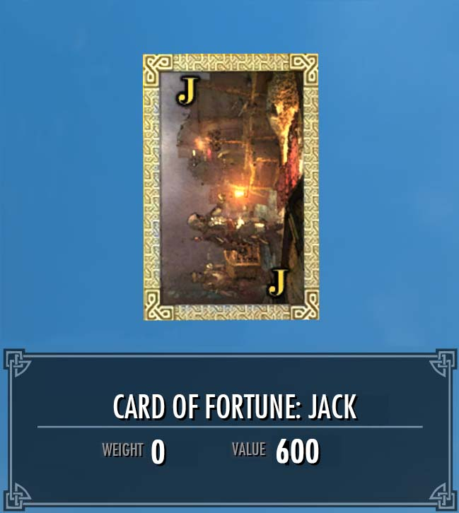 Card of Fortune: Jack