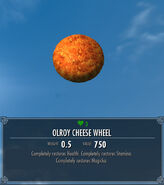 Olroy Cheese Wheel