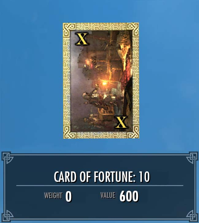 Card of Fortune: 10