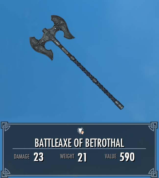 Battleaxe of Betrothal