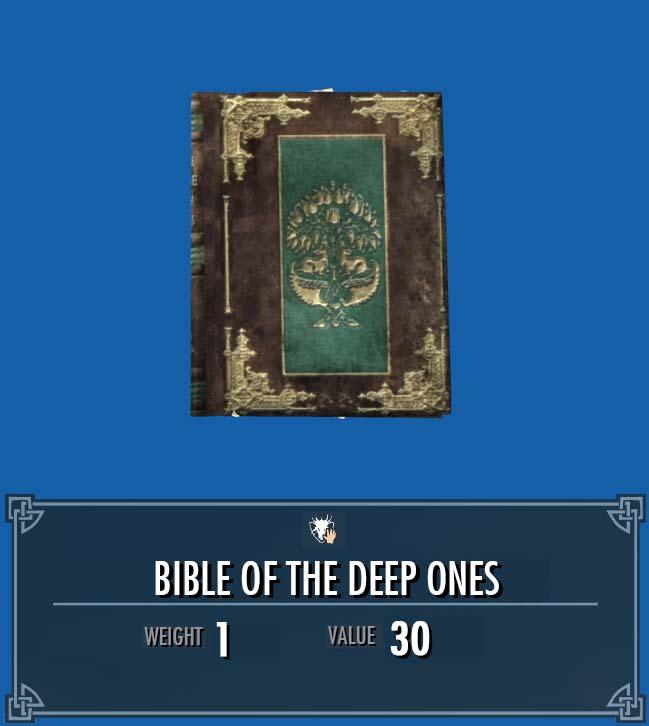 Bible of the Deep Ones