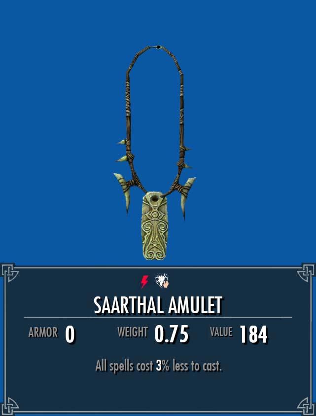 Saarthal Amulet