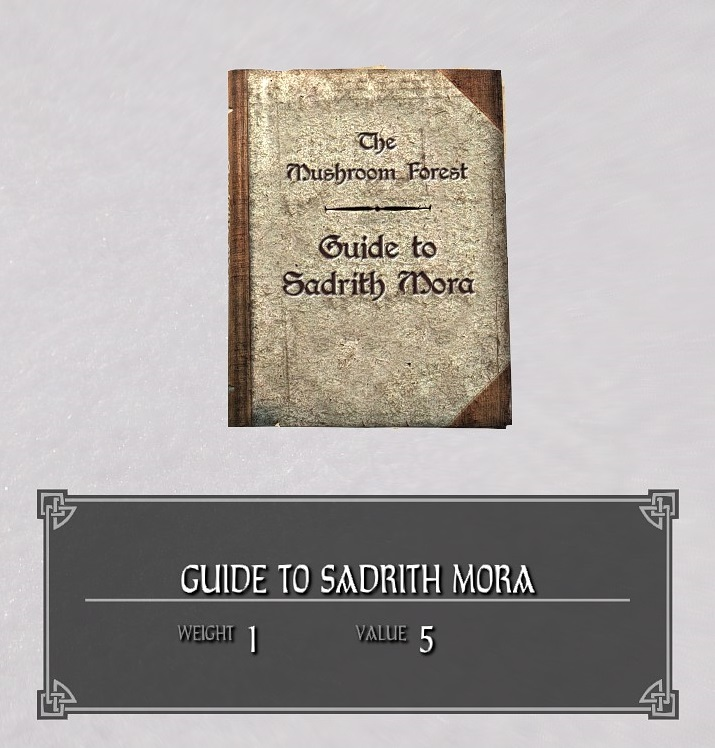 Guide to Sadrith Mora