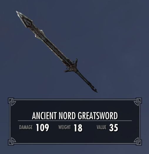 Ancient Nord Greatsword