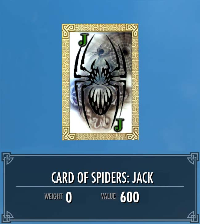 Card of Spiders: Jack