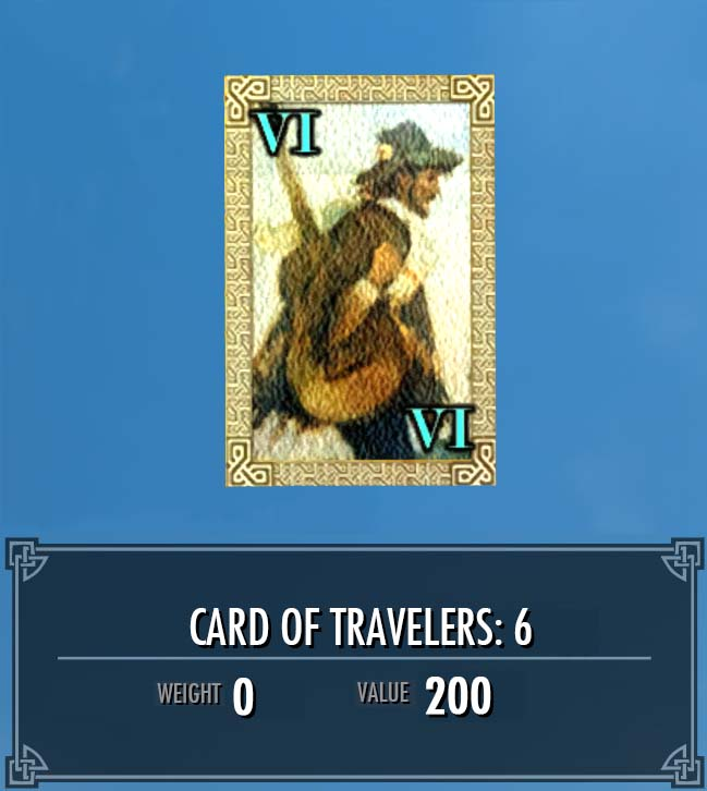 Card of Travelers: 6