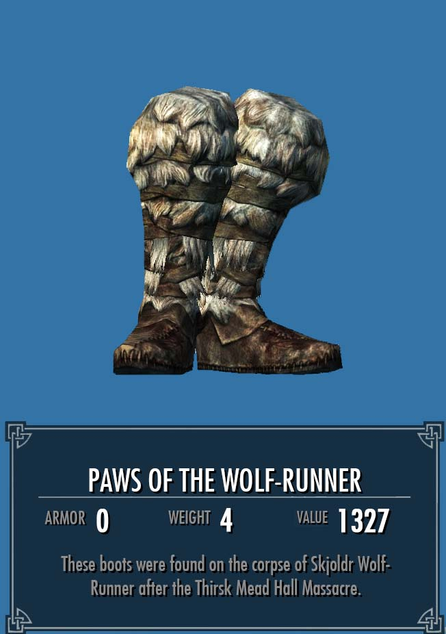 Paws of the Wolf-Runner