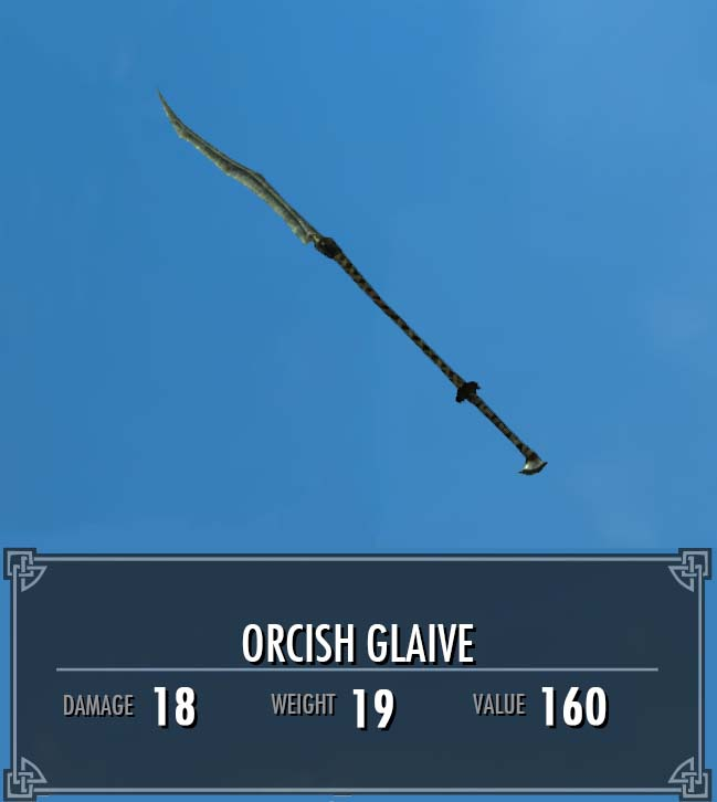 Orcish Glaive