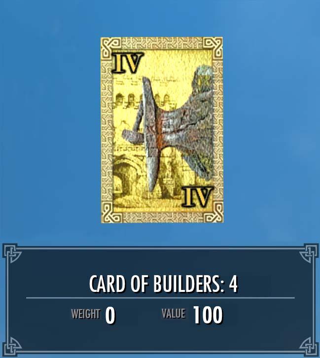 Card of Builders: 4