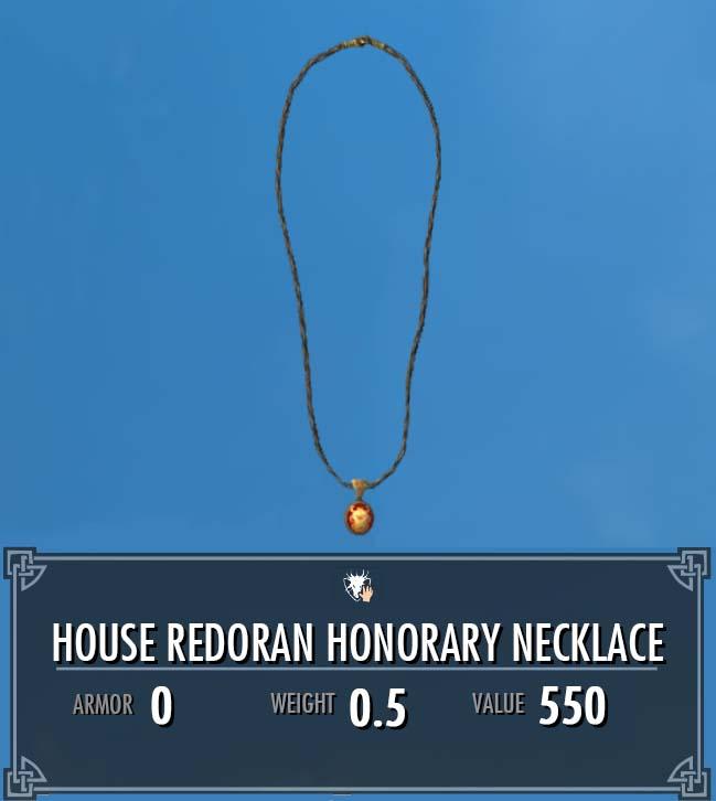 House Redoran Honorary Necklace