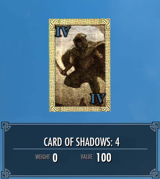 Card of Shadows: 4