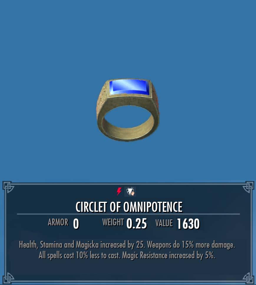 Circlet of Omnipotence (Ring)