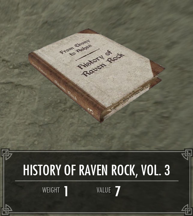 History of Raven Rock, Vol. 3