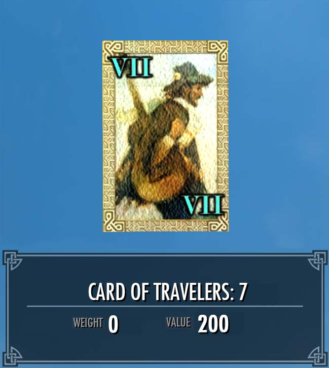 Card of Travelers: 7