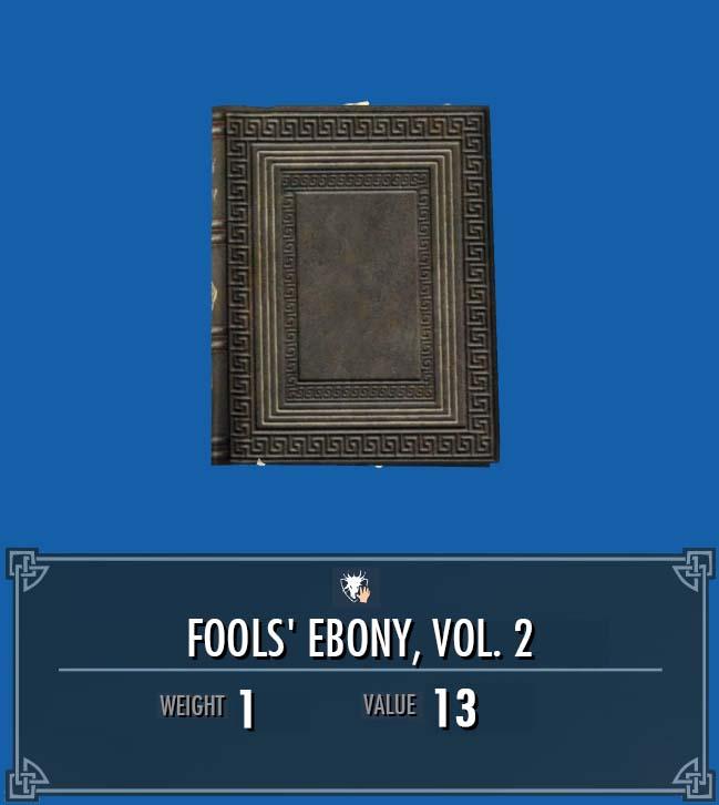Fools' Ebony, Vol. 2