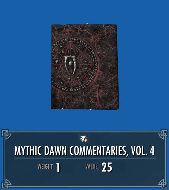 Mythic Dawn Commentaries, Vol. 4