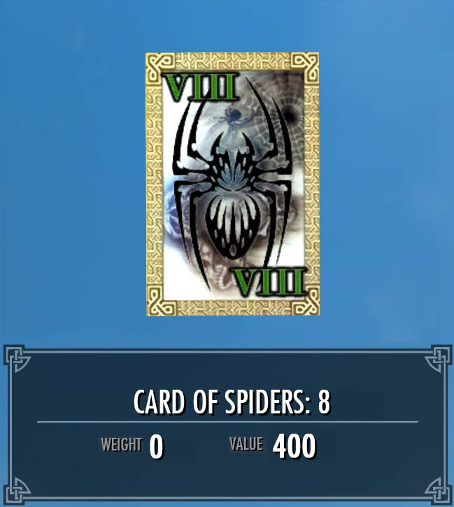 Card of Spiders: 8
