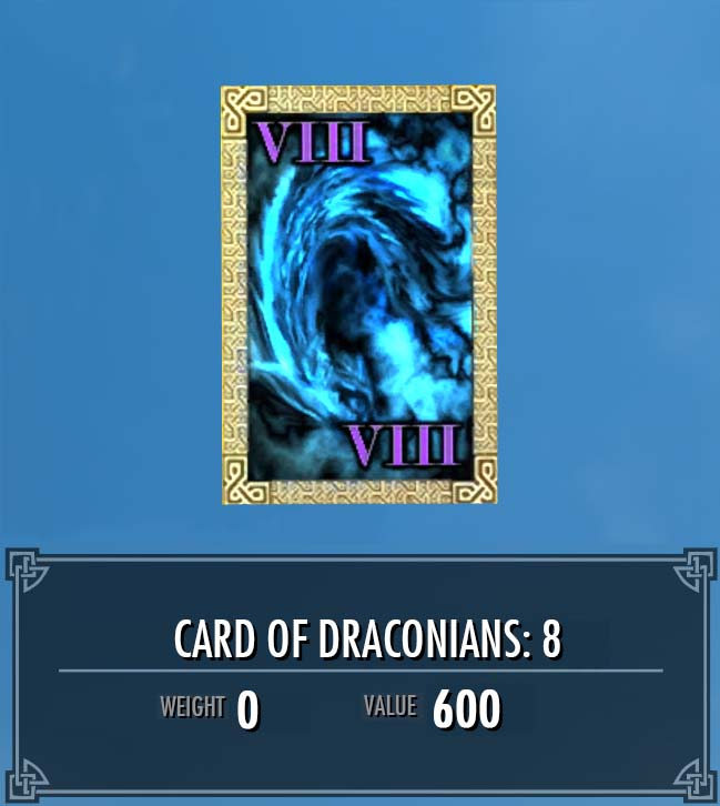 Card of Draconians: 8
