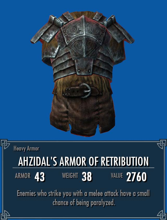 Ahzidal's Armor of Retribution