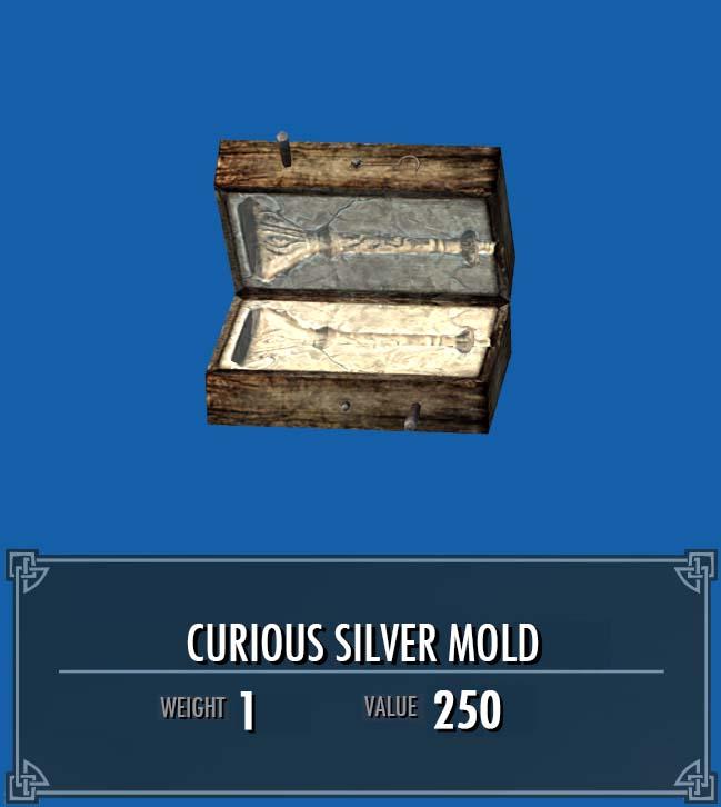 Curious Silver Mold