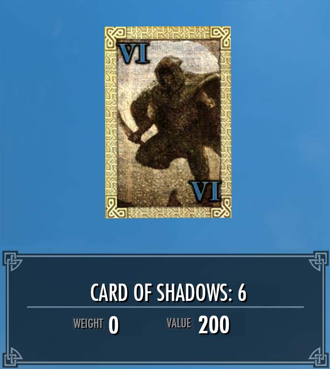 Card of Shadows: 6