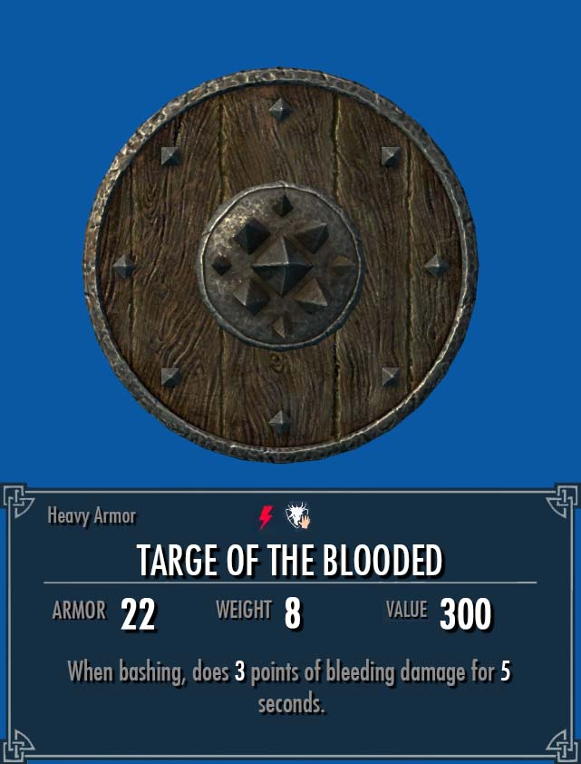 Targe of the Blooded