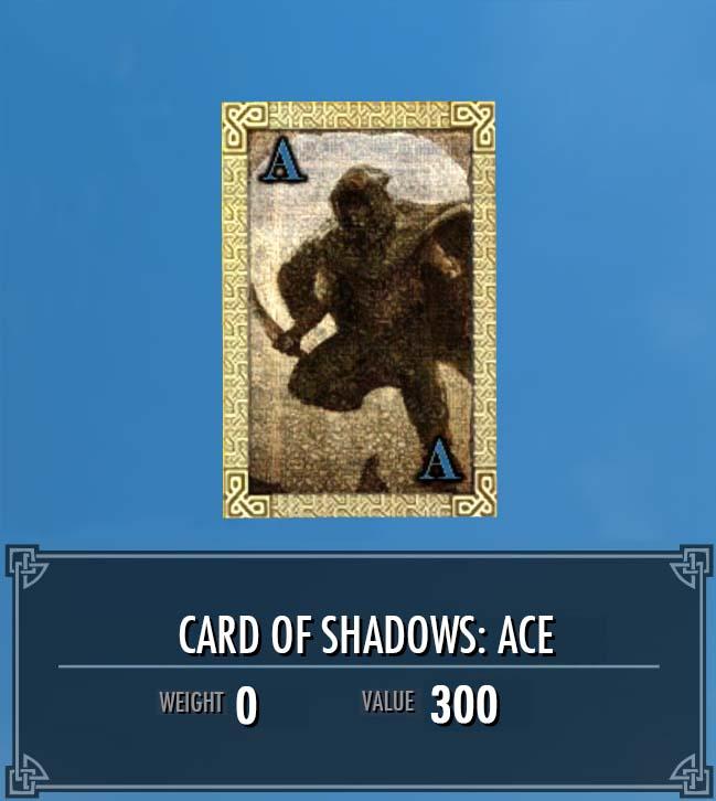Card of Shadows: Ace