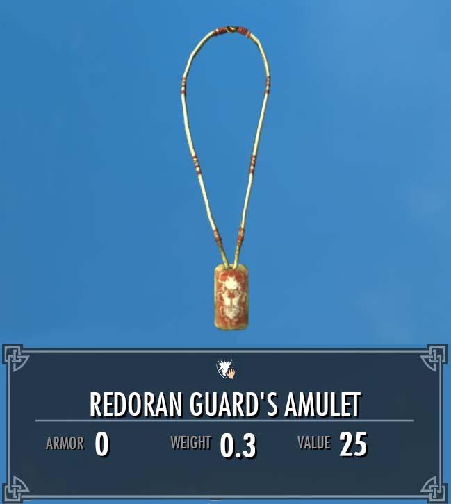 Redoran Guard's Amulet