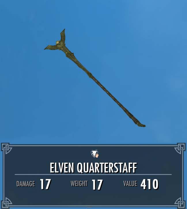 Elven Quarterstaff (Heavy Armory)