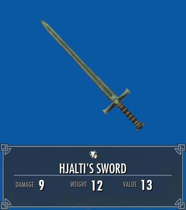Hjalti's Sword