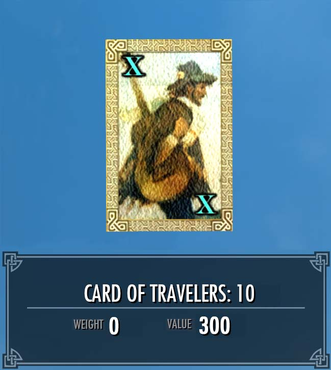 Card of Travelers: 10