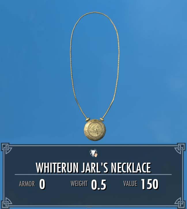 Whiterun Jarl's Necklace