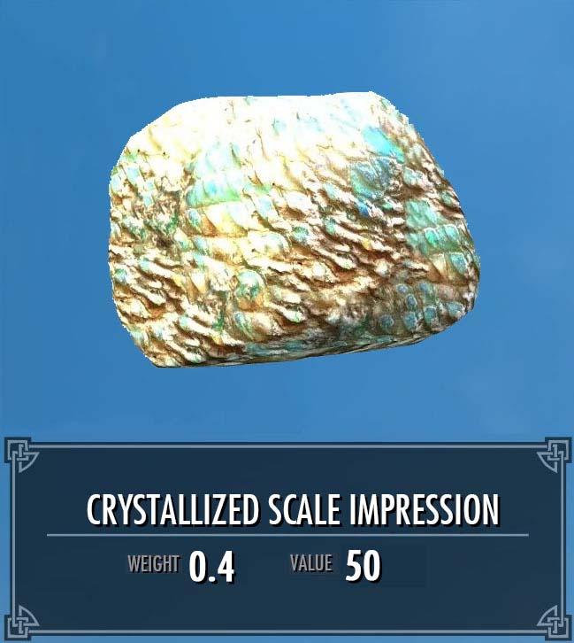 Crystallized Scale Impression